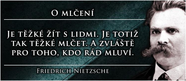 Friedrich-Nietzsche-O-mlčení
