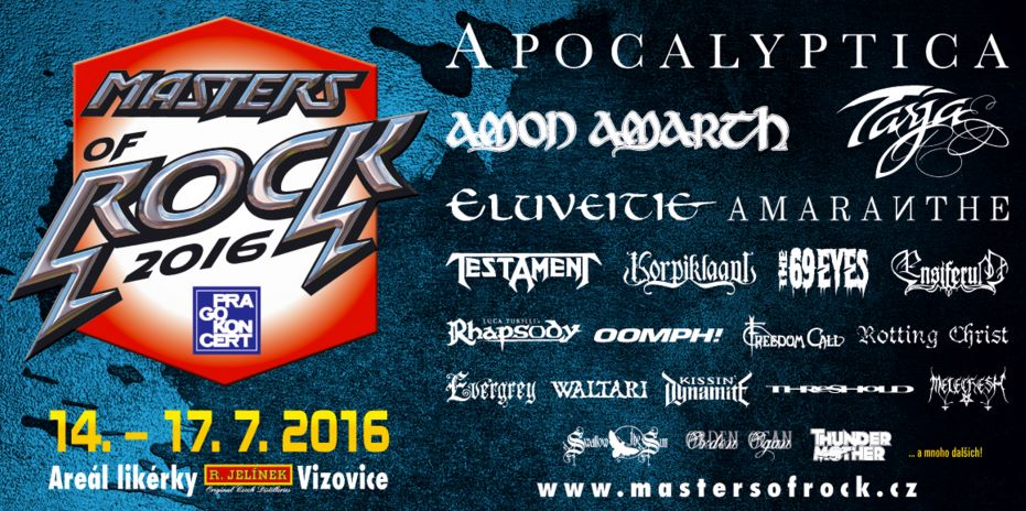 masters of rock 2016 poster