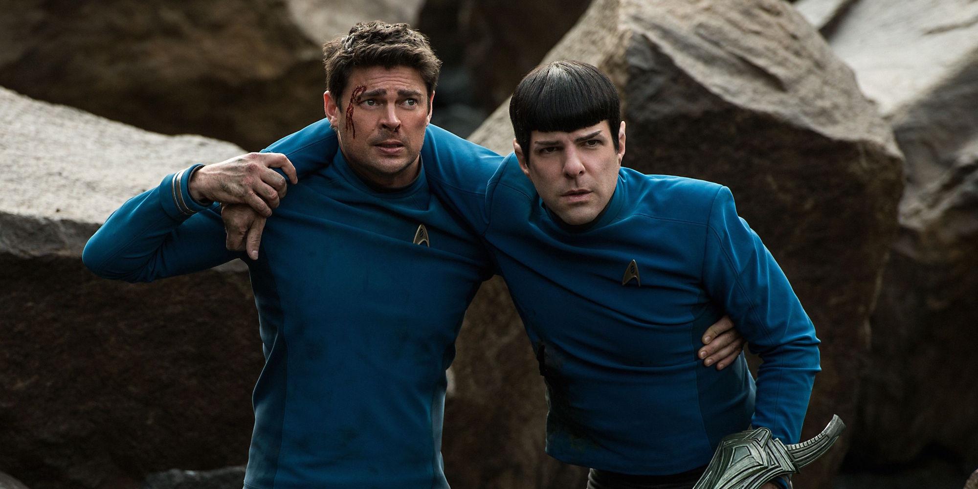 ST Beyond Spock a Kostra