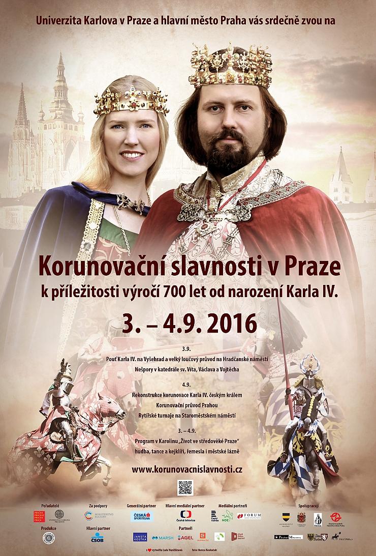Korunovační slavnosti plakát